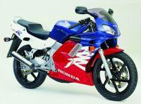 Honda NSR 125 2000 - Weiß/Rot/Blaue Version - Dekorset