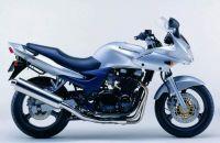 Kawasaki ZR-7S 2003 - Silber Version - Dekorset