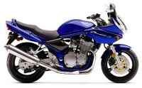 Suzuki Bandit 600S 2002 - Blaue Version - Dekorset