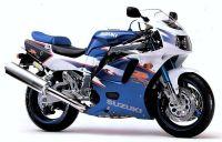 Suzuki GSX-R 750 1994 - Weiß/Blaue SP Version - Dekorset