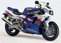 Suzuki GSX-R 750 1994 - Weiß/Blaue Version - Dekorset