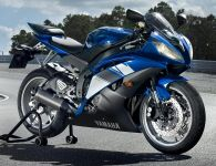 Yamaha YZF-R6 RJ15 2009 - Blaue Version - Dekorset