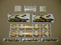 Suzuki GSX-R 750 Universal - Gold - Custom-Dekorset