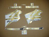 Suzuki Hayabusa 1999-2007 - Gold-Gebürstet - Custom-Dekorset