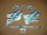 Suzuki Hayabusa 1999-2007 - FlipFlop - Custom-Dekorset