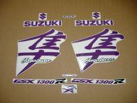Suzuki Hayabusa 1999-2007 - Violett - Custom-Dekorset