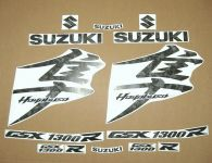 Suzuki Hayabusa 2008-2019 - Camouflage - Custom-Dekorset