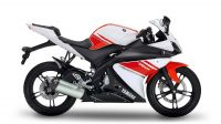Yamaha YZF-R125 2008 - White/Red Version - Decalset