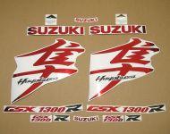 Suzuki Hayabusa 2008-2019 - Chrome-Rot - Custom-Dekorset