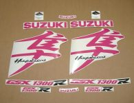 Suzuki Hayabusa 2008-2019 - Pink - Custom-Dekorset