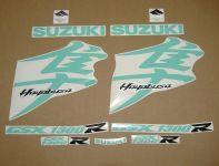 Suzuki Hayabusa 2008-2019 - Türkis - Custom-Dekorset