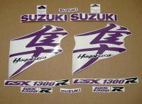 Suzuki Hayabusa 2008-2019 - Violett - Custom-Dekorset