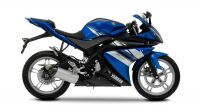 Yamaha YZF-R125 2009 - Blaue EU Version - Dekorset