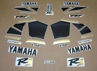Yamaha YZF-R1 2000-2001 - Schwarz/Gold - Custom-Dekorset