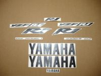 Yamaha YZF-R1 2002-2003 - Carbon - Custom-Dekorset
