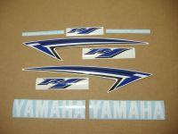 Yamaha YZF-R1 2009-2012 - Blau - Custom-Dekorset