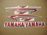 Yamaha YZF-R1 2009-2012 - Chrome-Rot - Custom-Dekorset