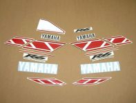 Yamaha YZF-R6 50th Anniversary - Rot - Custom-Dekorset