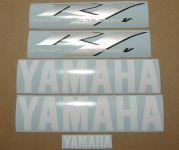 Yamaha YZF-R1 - Weiß - Custom-Dekorset