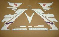 Honda CBR 1000RR 2006-2007 - Weiß - Custom-Dekorset