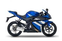 Yamaha YZF-R125 2009 - Blaue US Version - Dekorset