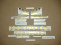 Honda CBR 1000RR - Gold - Custom-Dekorset