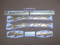Kawasaki ZX-12R 2004 - Gold/Rot - Custom-Dekorset