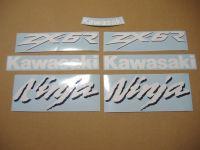 Kawasaki ZX-6R - Weiß/Blau - Custom-Dekorset
