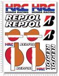 HONDA Repsol HRC Stickerset 24x32cm