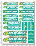 KTM Motorex Stickerset 24x32cm