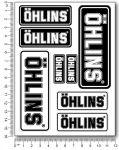ÖHLINS Stickerset V2 12x16cm
