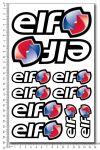 Elf Öl - Stickerset 16x26cm