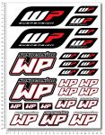 WP White-Power Suspension Stickerset 24x32cm