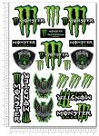 MONSTER Stickerset 34x49cm