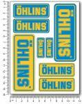 ÖHLINS Stickerset V1 12x16cm