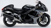 Suzuki Hayabusa 2013 - Schwarze Version - Dekorset