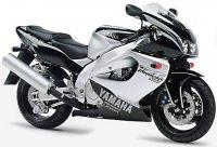Yamaha YZF-1000R 1996 - Schwarz/Silber Version - Dekorset