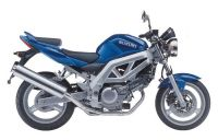 Suzuki SV 650 2003 - Blaue Version - Dekorset