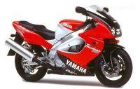 Yamaha YZF-1000R 1997 - Rot/Schwarze Version - Dekorset