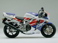 Honda CBR 900RR 1992 - White/Red/Purple Version - Decalset