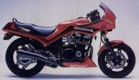 Honda CBX 750F 1984 - Rote Version - Dekorset