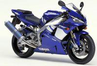 Yamaha YZF-R1 RN04 2001 - Blaue Version - Dekorset