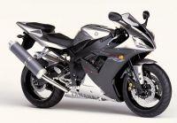 Yamaha YZF-R1 RN09 2002 - Silber Version - Dekorset