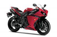 Yamaha YZF-R1 RN22 2014 - Rote Version - Dekorset