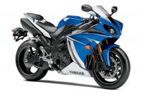 Yamaha YZF-R1 RN22 2011 - Blaue Version - Dekorset