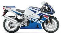 Suzuki GSX-R 600 2002 - Weiß/Blaue Version - Dekorset